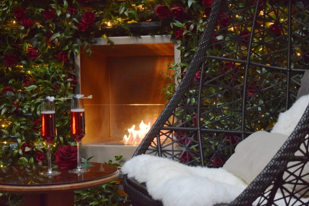 London's Most Romantic Restaurants For Valentine's Day   May Fair Enchanted Terrace