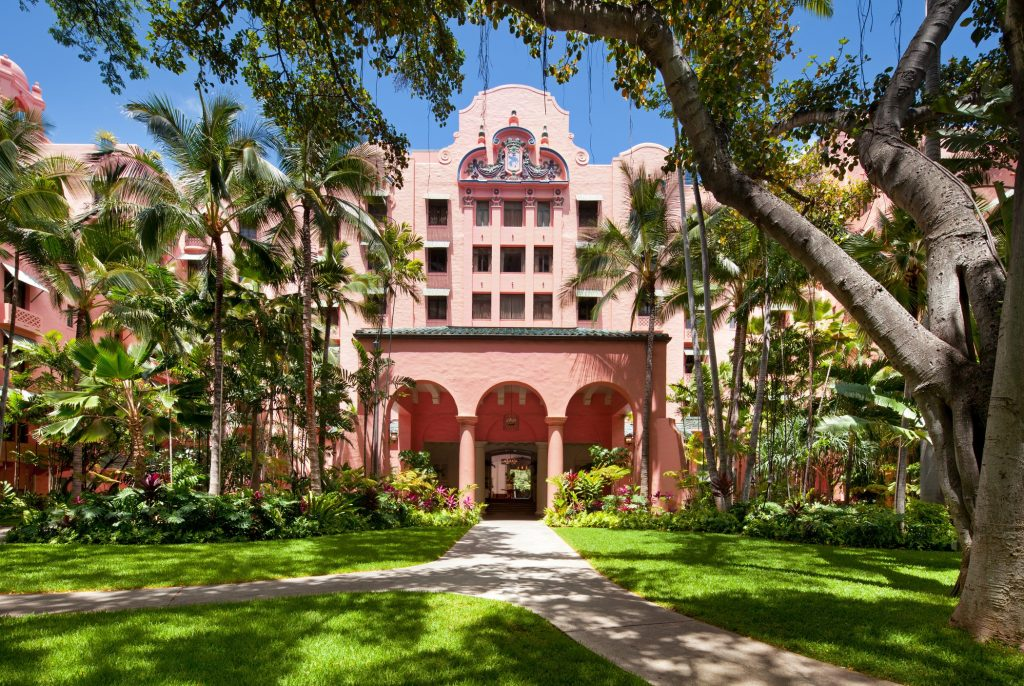 Prettiest Pink Hotels Around The World | The Royal Hawaiian, a Luxury Collection Resort – Hawaii, USA