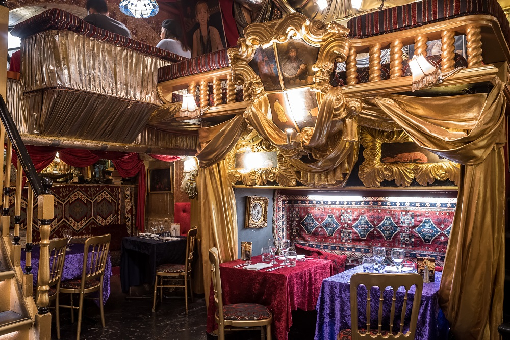 5 Best Kept Secret London Restaurants | Sarastro, Drury Lane, WC2B 5SU