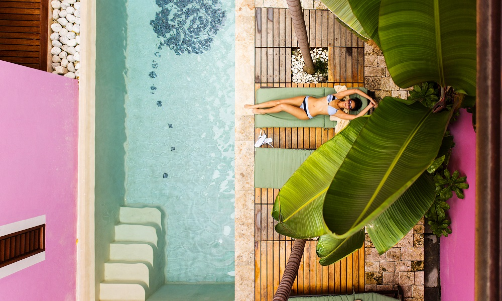 Prettiest Pink Hotels Around The World | Rosas & Xocolate - Yucatán, Mexico