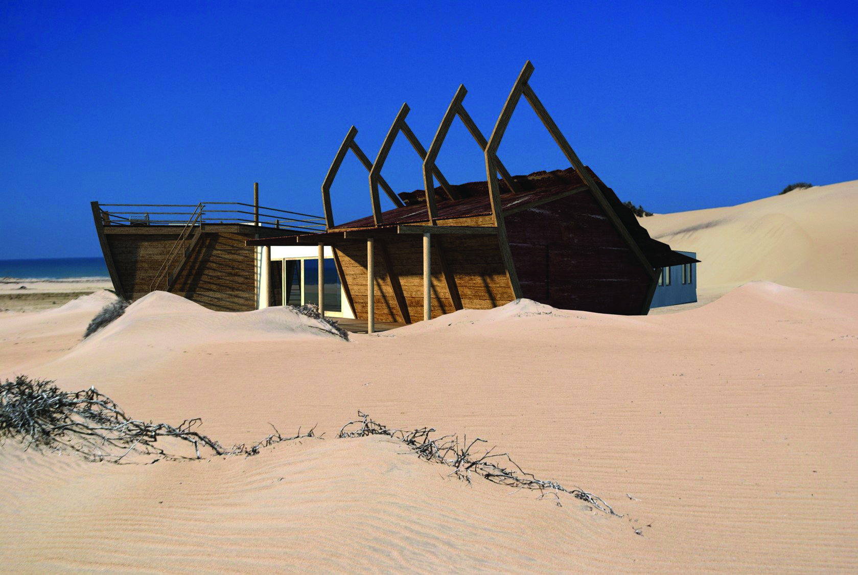 50 New Hotel Openings For 2018 | Africa | Shipwreck Lodge - Skeleton Coast, Namibia