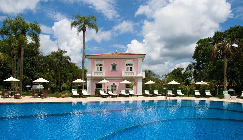 Prettiest Pink Hotels Around The World | Belmond Hotel Das Cataratas- Iguassu National Park, Brazil