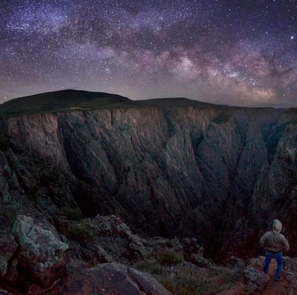 12 of the Best Stargazing Spots in the USA | Image credit: Black Canyon of the Gunnison National Park – Instagram